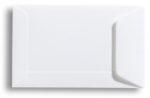 Klein wit envelopje voor notitiekaartje of visitekaartje