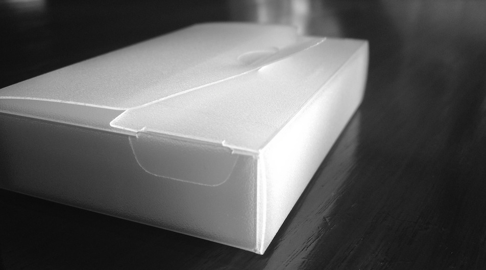 Plastic hoesje voor usem notitiekaartjes