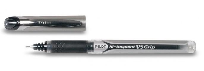 de Pilot rollerball pen Hi-tecpoint V5 Grip - black