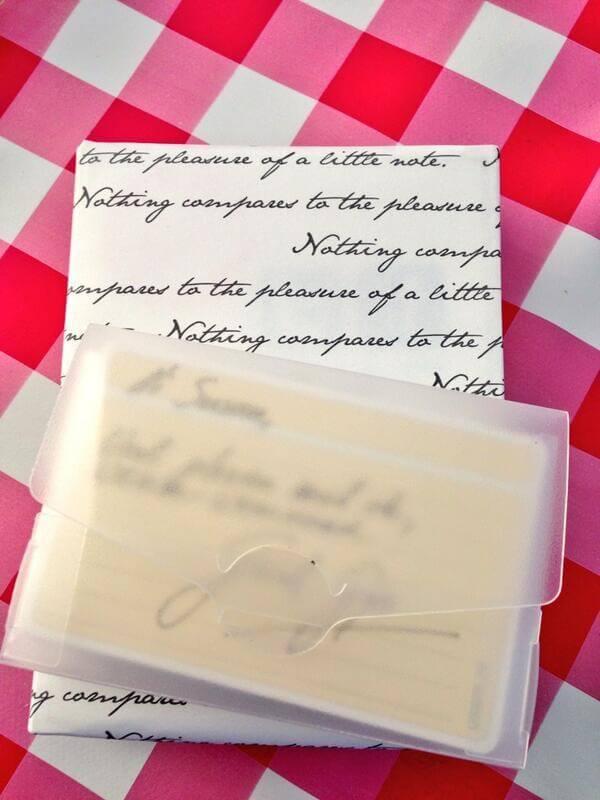 Mooi cadeautje voor papierliefhebbers (usem-notitiekaartjes)
