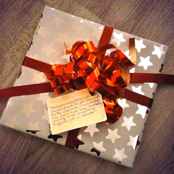 Usem-kaartje als handgeschreven cadeaukaartje