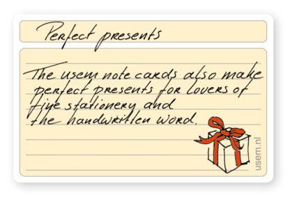 Origineel cadeau voor liefhebbers van stationery en pen en papier