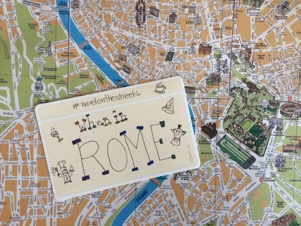Quote: when in Rome, do as the Romans do
