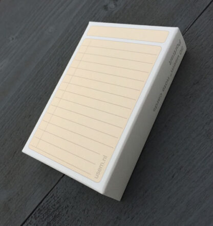 Paper Box of 50 to do cards