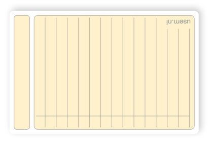 Premium luxe note cards the size of a business card